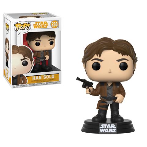 Фигурка Funko POP! Bobble: Star Wars: Solo: Han Solo POP 3 26974
