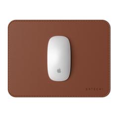 Коврик Satechi Eco Leather Mouse Pad для мыши. Эко-кожа, коричневый