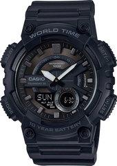 Мужские электронные часы Casio AEQ-110W-1B