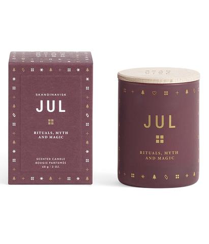 Свеча ароматическая JUL с крышкой, Skandinavisk