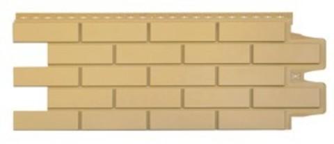 Фасадная панель Гранд Лайн Клинкерный кирпич Песочный 1105х417 мм