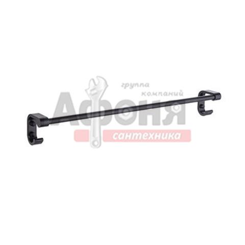 5501/L Полотенцедержатель одинарный 60 см (черный)