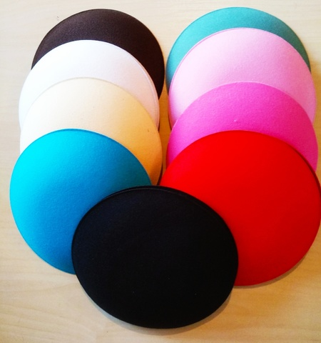 Основа для шляпки  круг  d-17 см., (выбрать цвет)