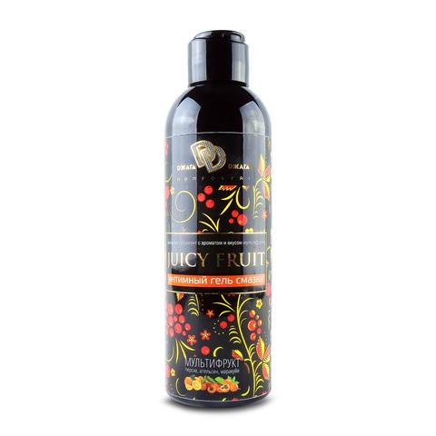 Интимный гель JUICY FRUIT 200 мл с ароматом Мультифрукт фото