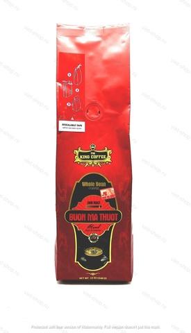 Вьетнамский зерновой кофе King, Buon Ma Thuot, смесь 2-х сортов, 340 гр.