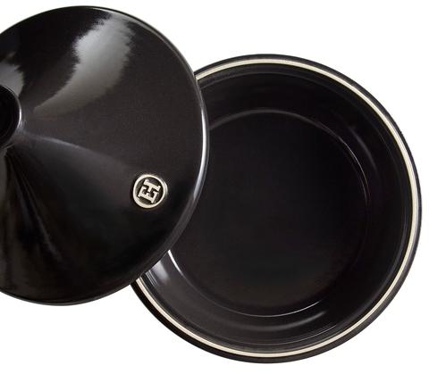 Тажин керамический Emile Henry черный 2л 27 см