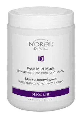 *Очищающая грязевая маска DETOX с торфом для лица и тела (NOREL/SKIN CARE/1000мл/PN 133)