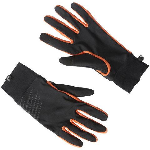 ASICS BASIC PERFORMANCE перчатки для бега в межсезонье оранж