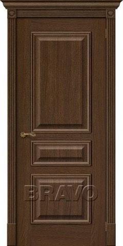 Дверь Bravo Вуд Классик-14, цвет golden oak, глухая