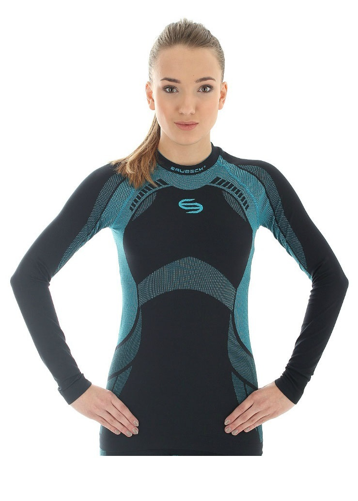 Термобелье рубашка женская Brubeck Dry (LS11430) синий