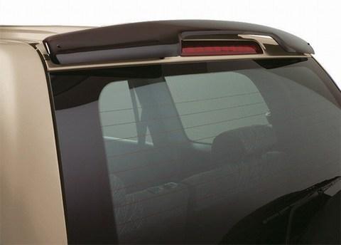 Дефлектор заднего стекла для Toyota Land Cruiser Prado 120 2002-2008 темный, EGR (539161)