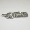 "Подвеска ""Стрекоза на часах"" (цвет - античное серебро) 47х33 мм"