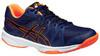 Детские волейбольные кроссовки Asics Gel-Upcourt GS (C413N 5090) темно-синие