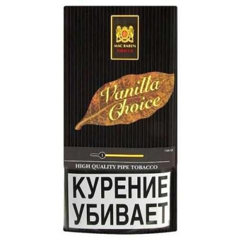 Табак Mac Baren Vanilla Choice (Трубочный) - (40 гр)