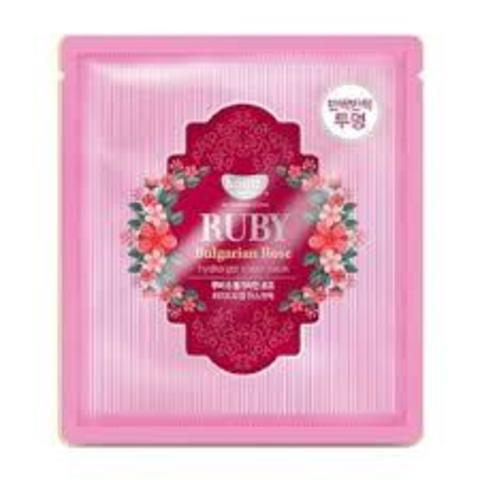 Гидрогелевая маска для лица с рубиновой пудрой и болгарской розой Petitfee Koelf Ruby & Bulgarian Rose Mask Pack