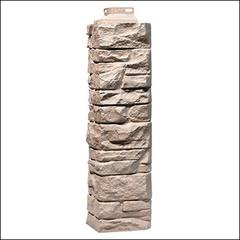 Наружный угол для фасадных панелей FineBer Скала Песочный