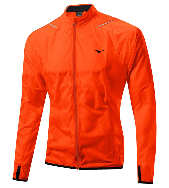 Мужская ветрозащитная куртка Mizuno Impermalite (J2GC4201C 66) красная