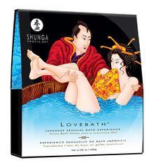 Соль для ванны SHUNGA Lovebath Ocean temptation, превращающая воду в гель (650 гр)