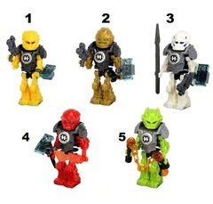 Minifigures Hero Factory Blocks Building