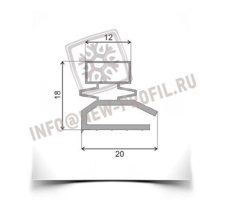 Уплотнитель 780*450мм для  морозильника Саратов МКШ-94  Профиль 013/015