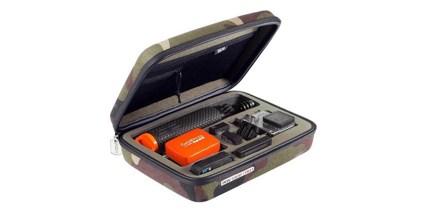 Кейс SP POV Case Uni-Edition открытый с аксессуарами