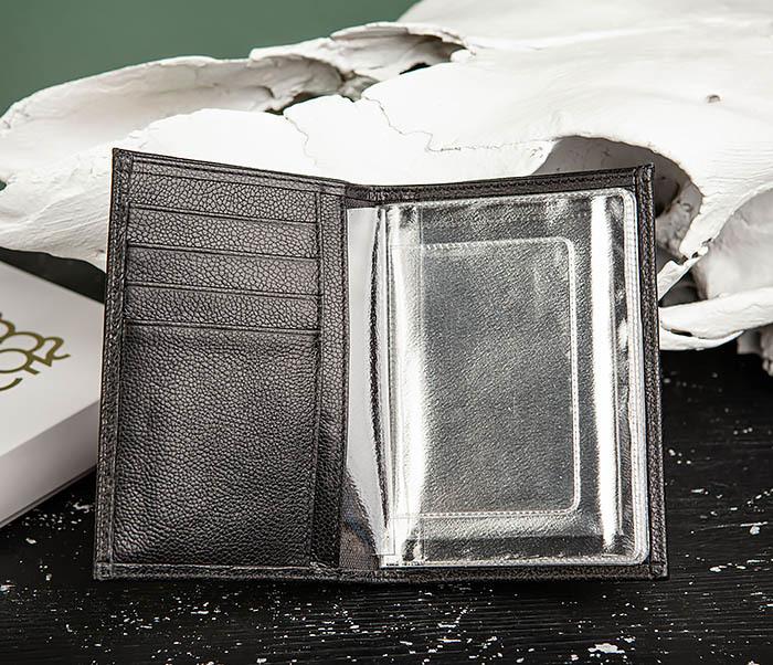 WL319-1 Бумажник автомобилиста для купюр, документов и карт, «Santini» фото 05