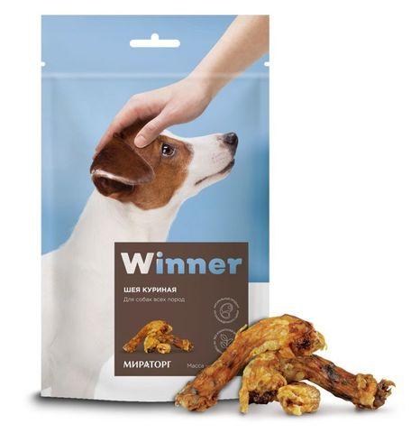 WINNER лакомство для собак (куриные шеи) 120г