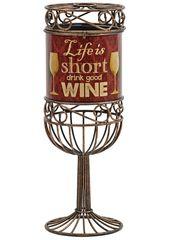 Декоративная емкость для винных пробок Boston Warehouse Life is Short