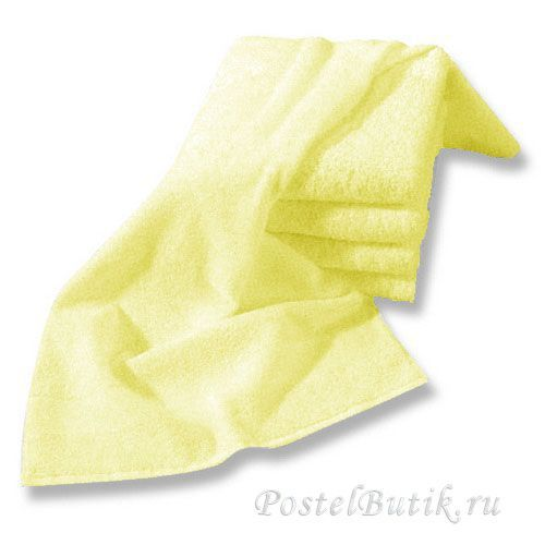 Полотенце 40х75 Mirabello Microcotton светло-желтое