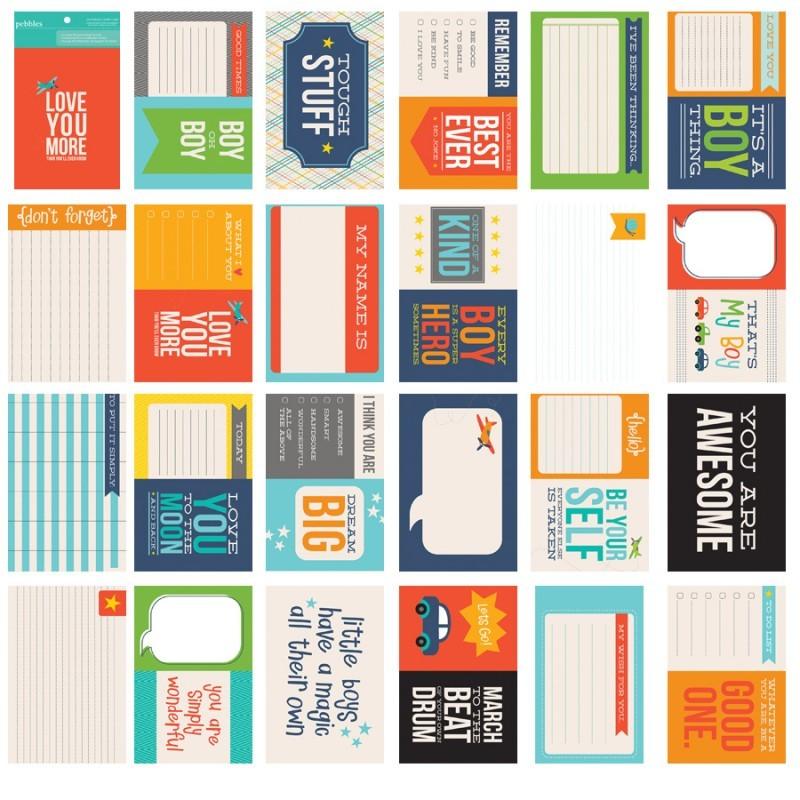 Набор журнальных  карточек  24шт