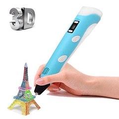 3Д-Ручка Голубая (3D Pen второго поколения)