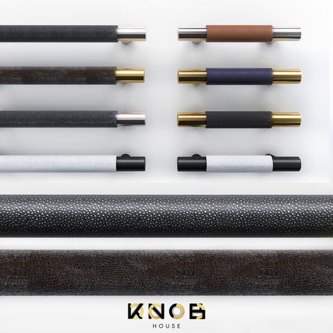 Ручка скоба D15 Premium Leather