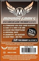 Протекторы для настольных игр Mayday Premium USA Chimera (57,5x89) - 50 штук