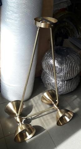 WILLOW 4 bulbs chandelier by Art - metal (HK)