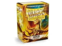 Dragon Shield - Золотые протекторы 100 штук