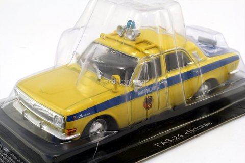 GAZ-24 Volga traffic police 1:43 DeAgostini Auto Legends USSR Police #1