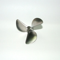 6715/3 Propeller Offshore 27cc, Stainless Steel