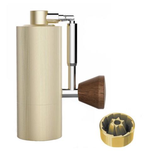 Кофемолка Timemore Nano Gold c титановыми жерновами