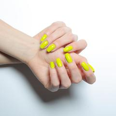 Гель-лак MIX 089 Neon Yellow, 10 мл