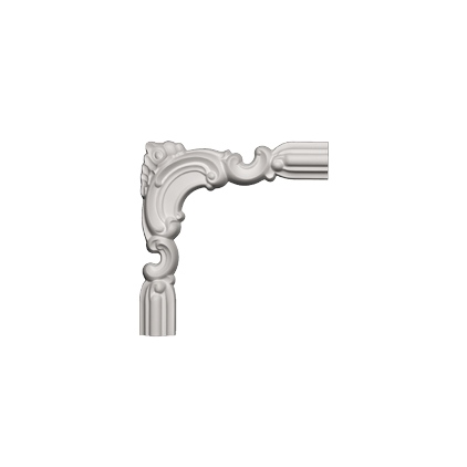 Угловой элемент Европласт из полиуретана 1.52.298, интернет магазин Волео