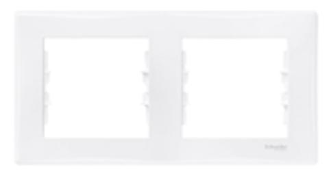 Рамка на 2 поста, горизонтальная. Цвет белый. Schneider Electric Sedna. SDN5800321