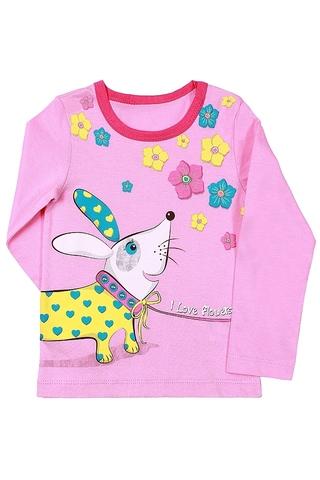 Basia Джемпер для девочки Л523-4125 розовый