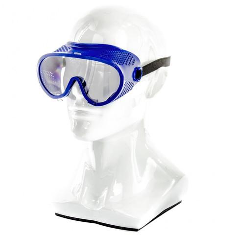 Очки защитные закрытого типа с прямой вентиляцией, поликарбонат Россия// Сибртех