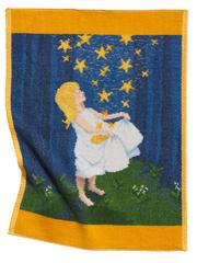 Полотенце детское 37x50 Feiler Marchen Sterntaler 106 желтое