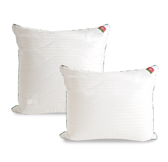 Одеяла и Подушки Подушка бамбуковая Коллекция Бамбоо  в сатине. подушка_бамбу.jpg
