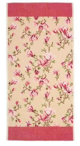 Полотенце 75x150 Feiler Magnolia beige 124 altrosa