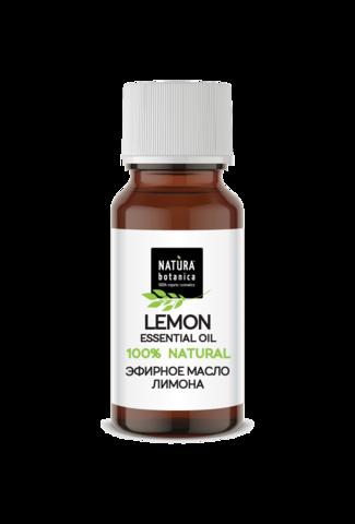 Эфирное масло лимона, 10 мл (Natura Botanica)