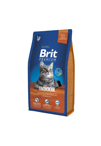 Brit Premium Cat Indoor  (д/ кошек, живущих в помещении)