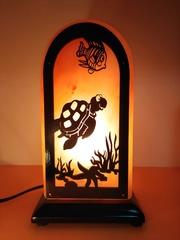 Соляная лампа Черепаха