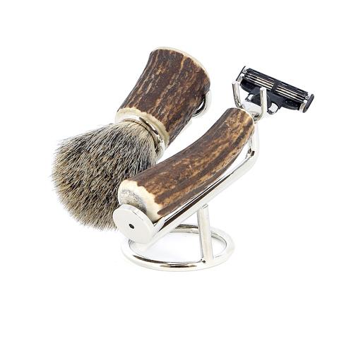 Бритвенный набор S.Quire 6614 коричневый